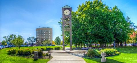 SUNY Fredonia Clock Tower & Maytum Hall.jpg